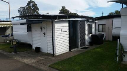 Onsite caravan for sale (South Coast)
