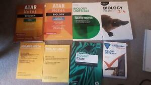 VCE biology unit 3 &4 *no markings!!*