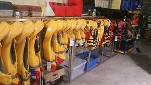 Life jackets and jetpilot ski vests and a tonne Boating goods Drummoyne Canada Bay Area Preview