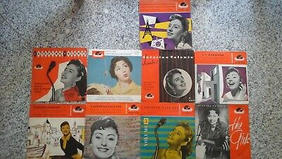 CATERINA VALENTE * 9 POLYDOR EPs MADE IN GERMANY *