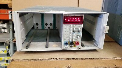 Tektronix Tm504 4-slot Chassis Good