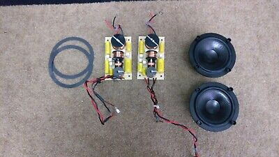 Ascend Acoustics Sierra 2 Crossovers and Drivers