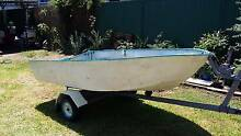 Cheap 3m by 1400 Tinny and Trailer. Rydalmere Parramatta Area Preview