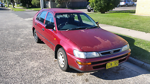 Toyota corolla 1996 Merewether Newcastle Area Preview