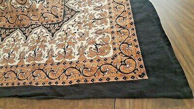 India Block Print Tablecloth/Bedspread 83