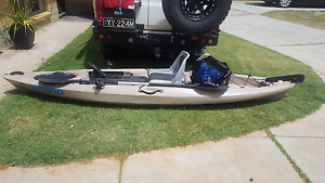 Fishing kayak with a couple of nice extras Henley Beach South Charles Sturt Area Preview