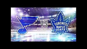 St Louis at Toronto Maple Leafs Oct 20th (2x, 3x 4x)