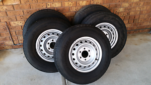5x Mazda BT50 rims with Bridgestone Dueller 255/70/16 tyres Tootgarook Mornington Peninsula Preview