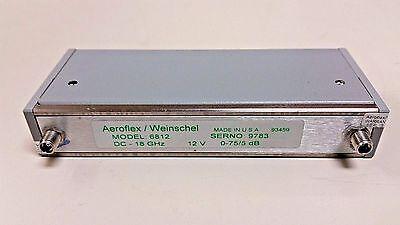 Aeroflex Weinschel Inc Programmable Step Attenuator 6812 18 Ghz 0-75 Db 150t-75