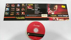 MICHEL-BERGER-LES-PLUS-BELLES-CHANSONS-CD-DIGIPACK-15-TRACKS-WEA-1998