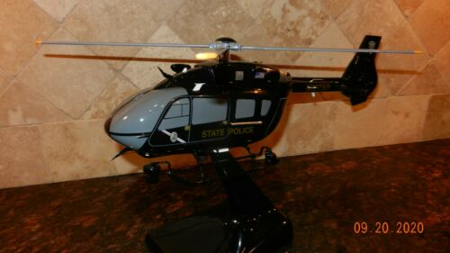 Airbus H145 New Mexico State Police Model Helicopter Airplane Detailed FDM