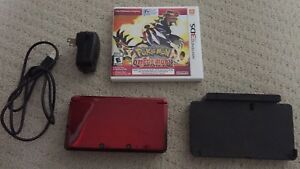 3DS with game, and charging dock accessory