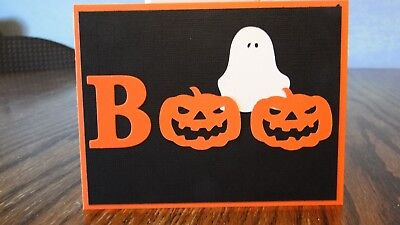 Homemade Halloween Cards (4 in set) - Home Made Halloween Cards