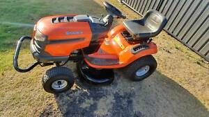 Husqvarna ride on mower, pro lawn edger, 455 chainsaw