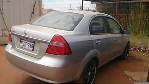 2007 Holden Barina Sedan Wedgefield Port Hedland Area Preview