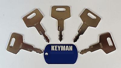 5 H806 Takeuchi Hitachi Gehl Heavy Equipment Keys-20