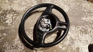 BMW e46 leather sport steering