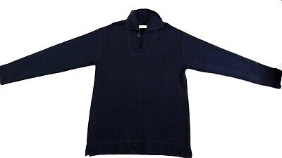 Men's Armor Lux Luxury Sweater in Blue Large, Made in France - EUC