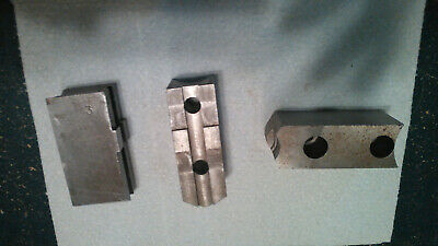 Lathe Chuck Steel Soft Top Jaws Tonguegroove 1.5 Width