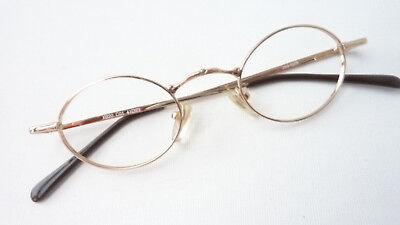 Augenoptik Brille Fassung Damen Klein Oval Ausgefallenes Design Metall Gestell Grösse M Brillenfassungen
