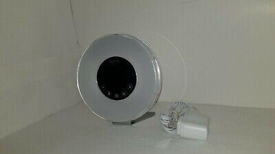 hOmeLabs Sunrise Alarm Clock -Digital LED Clock with 6 Color Switch and FM Radio