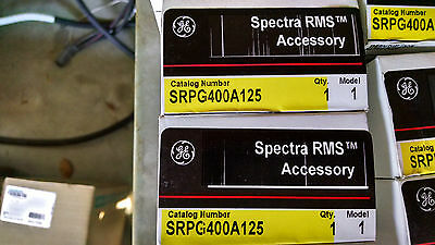 Ge Spectra Srpg400a125 125amp Circuit Breaker Rating Plug Brand New In Box