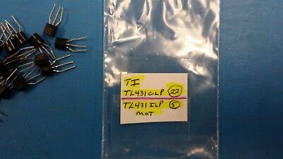 27tl431clpilp V-ref Adjustable 2.495v To 36v 100ma 3-pin To-92