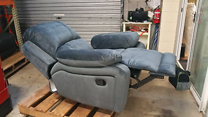 As New,  Never Sat On Velour Recliner Chair - Nearly Perfect Yarrawonga Palmerston Area Preview