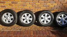 Isuzu D-Max Tyres and Rims x 4 Thornlands Redland Area Preview