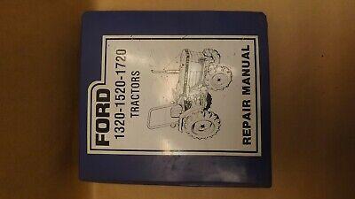 Oem Ford 1320 1520 1720 Tractor Repair Manual