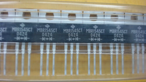 GS MBR1545CT TO-220AB 45V 15A Schottky Diode New Lot Quantity-10