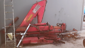 Hiab 850  crane self loader Labrador Gold Coast City Preview