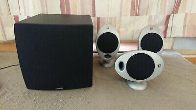 Yamaha NS-SW280 + 3 KEF HTS2001 satelite speakers