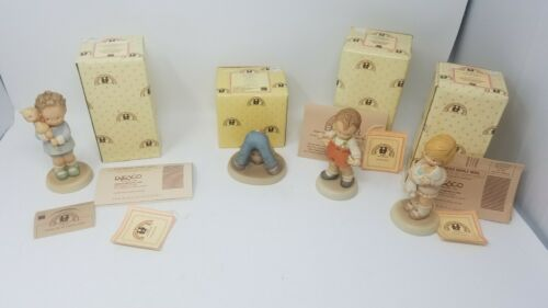 Memories Of Yesterday Figurine and Box Lot of 4  Great Condition!