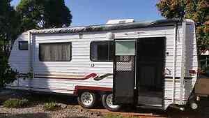 1998 regal deluxe 19 foot caravan Narangba Caboolture Area Preview