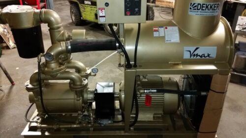 """Dekker, Vmax, VMX0553 550 CFM, 29"""", travaini, sihi, kinney, vacuum pump"""
