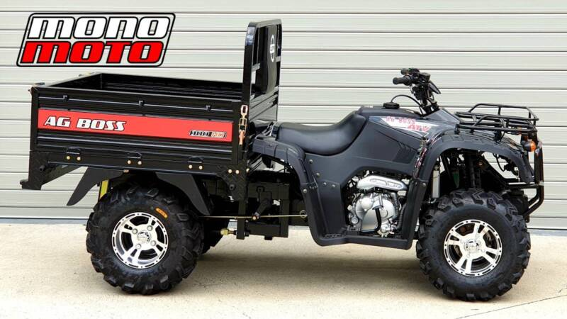 300HD AG BOSS ELSTAR ATV MONO MOTO FARM QUAD BIKE TRAILER