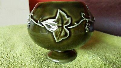 Dartmouth Pottery Grapevine Design Brandy Balloon Shaped Bowl