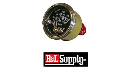 Murphy 20p7-75 - Oil Pressure Gauge 0-75 Psi With Lockout