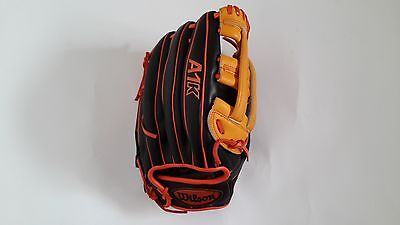 Wilson A1K Baseball Glove WTA1K-O 1799 12.75inch Black Yellow Outfielders RHT