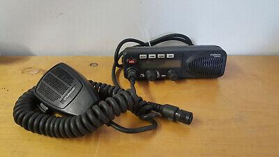 Ef Johnson 5300 Es Mobile Remote Radio Control Head 023-5500-830 W Microphone