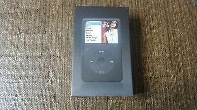 APPLE IPOD CLASSIC ORIGINAL BLACK 160GB (6th Gen)MB150LL/A FACTORY SEALED RARE! comprar usado  Enviando para Brazil