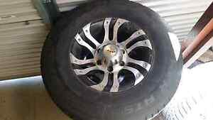3x cooper discoverer ATS 235 75 r15 Tyres and Mag rims Paralowie Salisbury Area Preview
