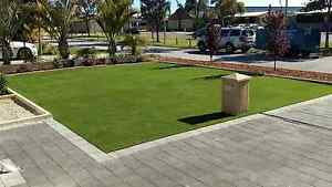 LANDSCAPING SYNTHETIC TURF ROLL ON LAWN PAVING LIMESTONE Calista Kwinana Area Preview
