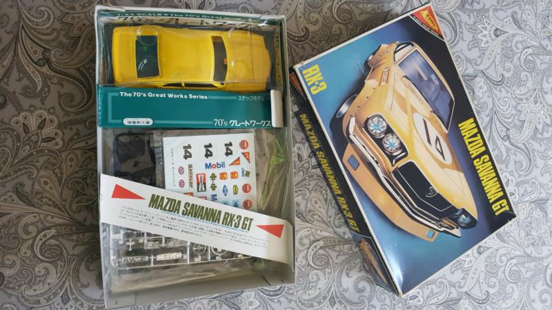 Rx3 mazda Vintage old school model kit   Toys - Indoor