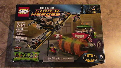 Lego - Batman The Joker Steam Roller #76013 Brand New Sealed!