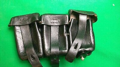 WWII GERMAN AMMO POUCH!!!ORIGINAL!!!RARE ITEM!!!FOR K98!!!