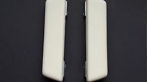 NEW 1967 Dart Valiant Barracuda WHITE Arm Rest Pads-Pair