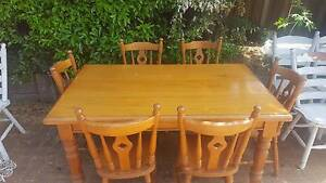 Great Quality, Solid Timber 6 Seater Dining Set Rangeville Toowoomba City Preview