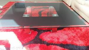 Near New Glass Coffee Table - great condition Macquarie Links Campbelltown Area Preview